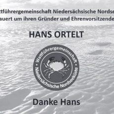 Nachruf Gründer und Ehrenvorsitzender Hans Ortelt